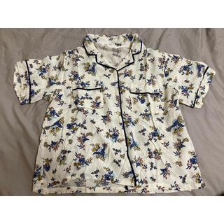 エヘカソポ(ehka sopo)のehkasopo 花柄パジャマシャツ(シャツ/ブラウス(半袖/袖なし))