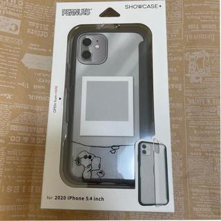 スヌーピー(SNOOPY)のスヌーピー  iphone12mini ケース グルマンディーズ ジョー・クール(iPhoneケース)