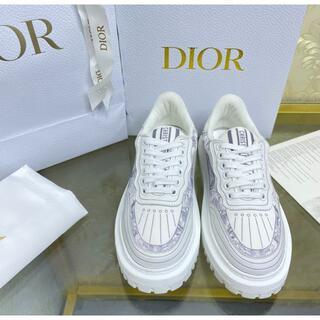 ディオール(Dior)の DIOR スニーカー カーフスキン & ラバー (スニーカー)