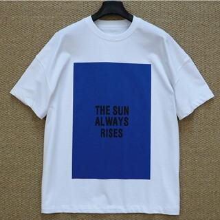 ジルサンダー(Jil Sander)の【白+青L】2枚で9800円です新品 JIL SANDER  Tシャツ(Tシャツ/カットソー(半袖/袖なし))