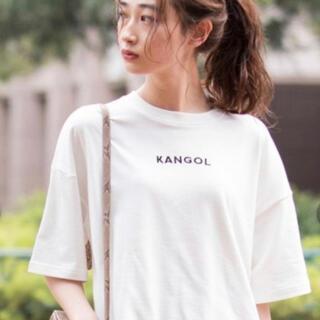 カンゴール(KANGOL)のカンゴール KANGOL 白Tシャツ(Tシャツ(半袖/袖なし))