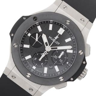 ウブロ(HUBLOT)のウブロ HUBLOT ビッグバン 腕時計 【中古】(ラバーベルト)