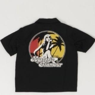 ジョーイヒステリック(JOEY HYSTERIC)のお値下げ Joey オープンカラーシャツ(Tシャツ/カットソー)