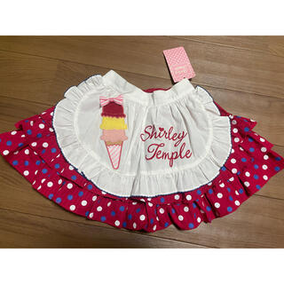 Shirley Temple - シャーリーテンプル⭐︎アイスエプロン付きスカート
