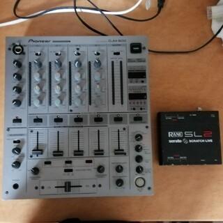 パイオニア(Pioneer)のPioneer DJM-600 SL2 セット(DJミキサー)