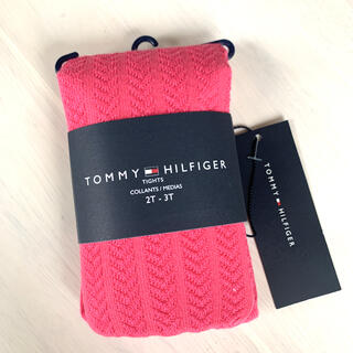 TOMMY HILFIGER - tommyhilfiger キッズ ピンク タイツ