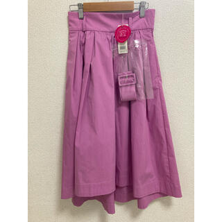 31 Sons de mode - トランテアンソンドゥモード  カラースカート  ピンク