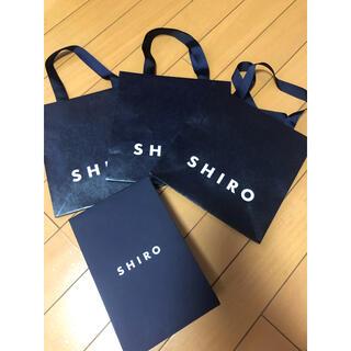 シロ(shiro)のshiro 袋(ショップ袋)