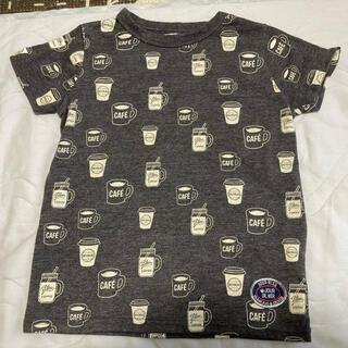 しまむら - しまむら カフェ コーヒー Tシャツ 110
