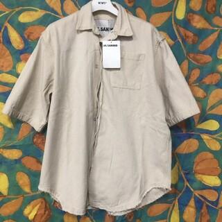 ジルサンダー(Jil Sander)のJIL SANDER ショットガン 半袖シャツ(Tシャツ/カットソー(半袖/袖なし))