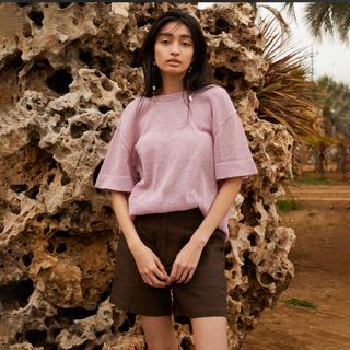 シールームリン(SeaRoomlynn)のsearoomlynn paper knit BackU Tシャツ(Tシャツ(半袖/袖なし))
