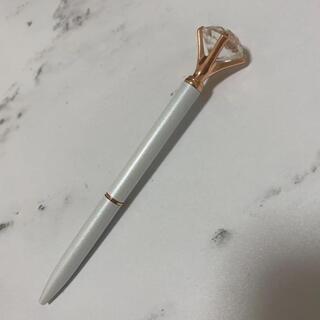 フランフラン(Francfranc)のフランフラン ペン ダイヤ 白 ホワイト(ペン/マーカー)