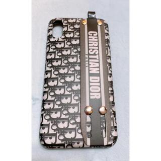 iPhone XSケース カバー Diorロゴ取っ手付き(iPhoneケース)