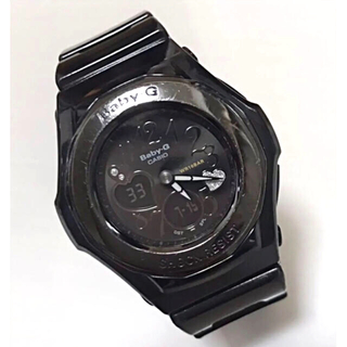 ベビージー(Baby-G)のカシオ CASIO Baby-G  ブラック ハート(腕時計)