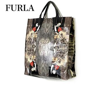 フルラ(Furla)の【超美品❗️】FURLA タレントハブ コラボ 不思議の国のアリス トートバッグ(トートバッグ)