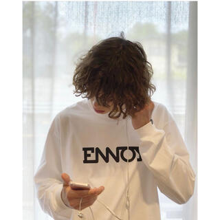 1LDK SELECT - the ennoy professional®︎ L/S TEE  WHITE