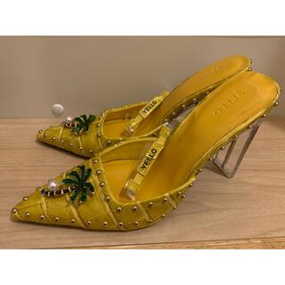 イエローブーツ(Yellow boots)のyellowの人気商品‼️(ハイヒール/パンプス)
