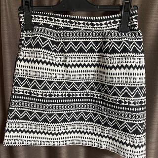 アベイル(Avail)の台形スカート ミニスカート 幾千柄スカート(ひざ丈スカート)