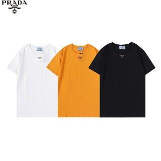 ☆Tシャツ新品男女兼用☆2枚8000円☆PRADA402☆(プラダ)在庫処分半袖(Tシャツ/カットソー(半袖/袖なし))