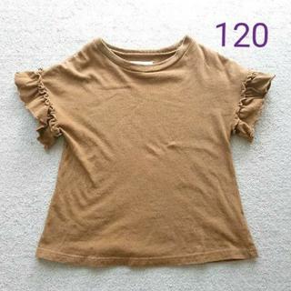 マーキーズ(MARKEY'S)のお値下げ◆マーキーズ 袖フリル 半袖 Tシャツ トップス 女の子 120(Tシャツ/カットソー)