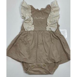 しまむら - ベビー服 ロンパース ワンピース スカート ブルマ 2点セット ベビードール