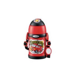 ゾウジルシ(象印)の象印 ステンレスボトル コップ&ストロー 2WAY レッド(消防車)(水筒)
