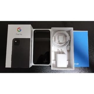 Google - Google Pixel 4a  JustBlack 128GB Simフリー