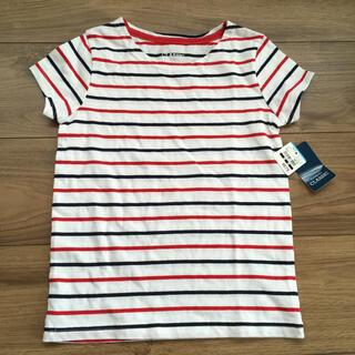 ユニクロ(UNIQLO)のボーダー Tシャツ 110 新品未使用 西松屋(その他)