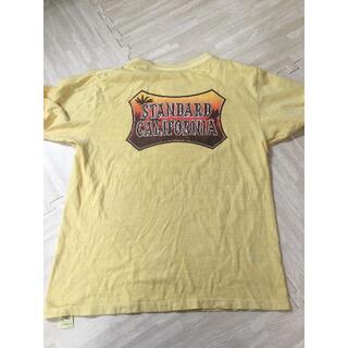 スタンダードカリフォルニア(STANDARD CALIFORNIA)のSTANDARD CALIFORNIA サンセットシールドロゴTシャツ(Tシャツ/カットソー(半袖/袖なし))
