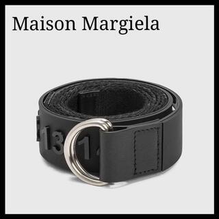 マルタンマルジェラ(Maison Martin Margiela)の新品 メゾンマルジェラ ロゴ ベルト ラバー ナンバー(ベルト)