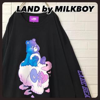 ミルクボーイ(MILKBOY)の☆コラボ☆ ミルクボーイ×ケアベア ロンT ブラック ビッグサイズ(Tシャツ(長袖/七分))