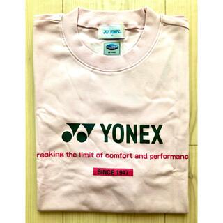 YONEX - 新品 YONEX ヨネックス 冷感Tシャツ パウダーピンク ユニセックスMサイズ