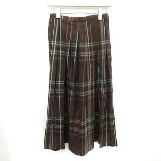 ドアーズ(DOORS / URBAN RESEARCH)のアーバンリサーチ ドアーズ 20AW スカート プリーツ ロング 0 XS 茶(ロングスカート)