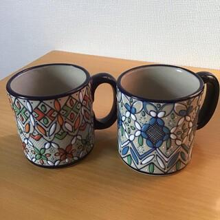 メキシコ セルビン焼き マグカップ(グラス/カップ)