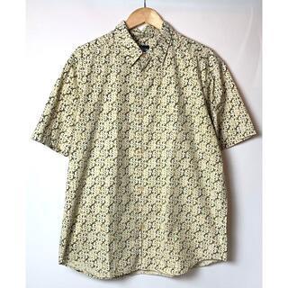 ステューシー(STUSSY)のレア! 90s USA製 オールド ステューシー SSロゴ 総柄 シャツ XL(シャツ)