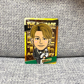 THE RAMPAGE - RIKU 青山陸 居酒屋えぐざいる カード