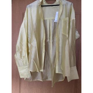 アーバンリサーチ(URBAN RESEARCH)の新品 アーバンリサーチシアーバンドカラーシャツ(シャツ/ブラウス(長袖/七分))