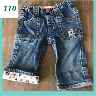 ダブルビー(DOUBLE.B)の中古 ダブルビー 110 デニムパンツ ハーフパンツ ズボン 95 100(パンツ/スパッツ)