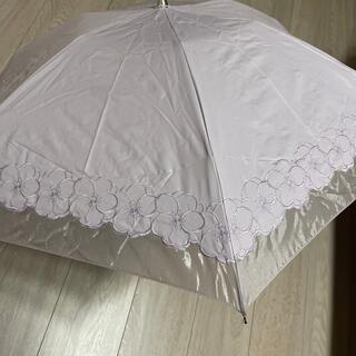 ミラショーン(mila schon)のミラショーン 日傘 折りたたみ(傘)