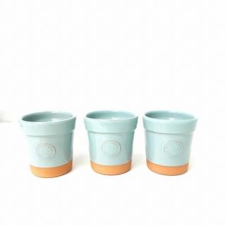 Tiffany & Co. - ティファニー TIFFANY & CO. フラワーポット テラコッタ 植木鉢 青