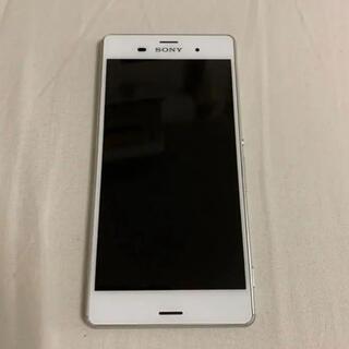 SONY - エクスペリア Xperia Z3 white 32 GB SIMロック解除済み