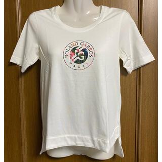 アディダス Y-3 ローランギャロス テニス Tシャツ レディースM 白(ウェア)