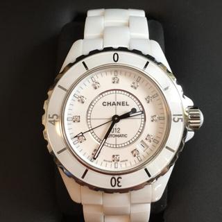 シャネル(CHANEL)の腕時計 CHANEL シャネル J12  38mm  H1629  ダイヤ (腕時計(アナログ))