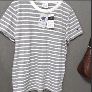 チャンピオン(Champion)の【新品】 Champion ポケットTシャツ(Tシャツ(半袖/袖なし))