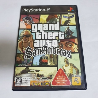 PlayStation2 - グランド・セフト・オート・サンアンドレアス PS2