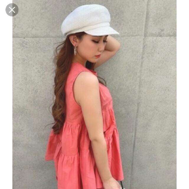 DURAS(デュラス)のデュラス  ペーパーキャスケット レディースの帽子(キャスケット)の商品写真