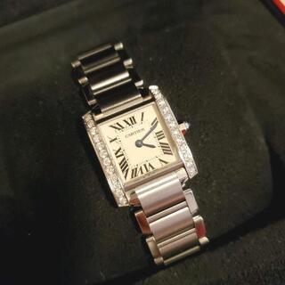 Cartier - カルティエ タンクフランセーズsm ダイヤ