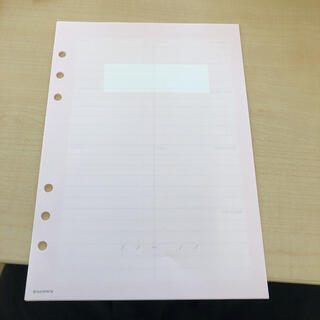 マークス(MARK'S Inc.)のA5サイズMARK'S手帳用リフィル(ノート/メモ帳/ふせん)