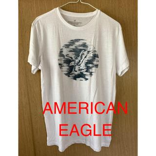 アメリカンイーグル(American Eagle)のメンズ 白Tシャツ L(Tシャツ/カットソー(半袖/袖なし))