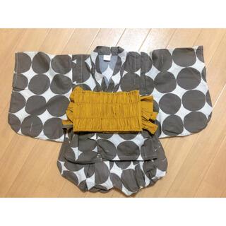 シマムラ(しまむら)のtete a tete ゆかたドレス 95㎝(甚平/浴衣)